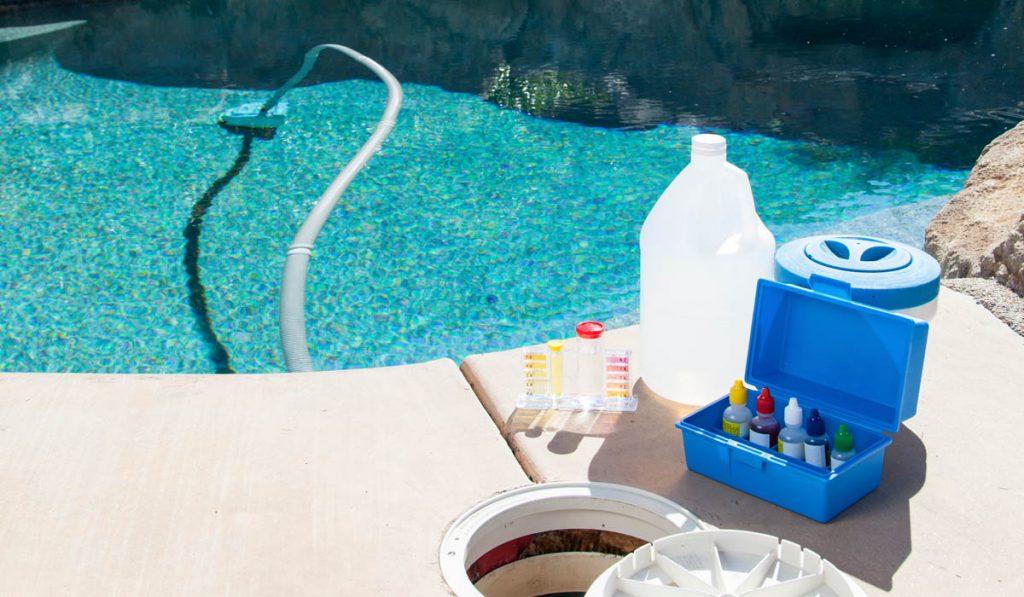 Kit entretien piscine