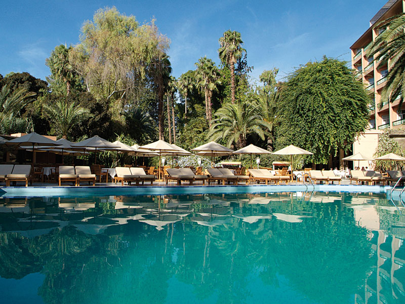 Piscine hotel es saadi marrakech
