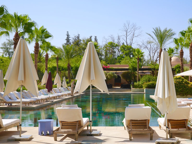 piscine hotel four seasons marrakech