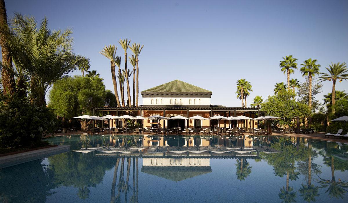 piscine hotel mamounia marrakech