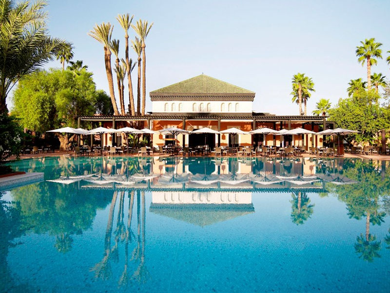 piscine hotel mamounia