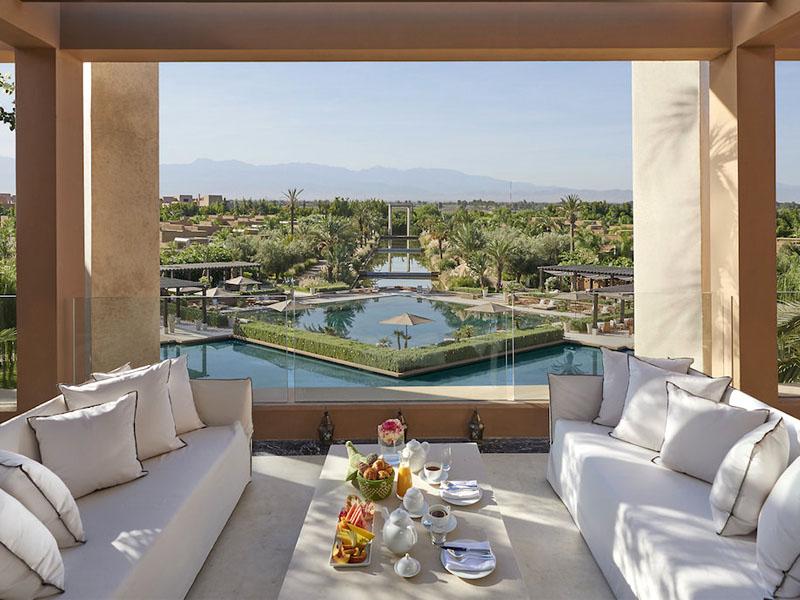 piscine hotel mandarine oriental marrakech