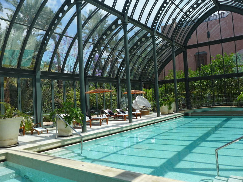 piscine hotel royal mansour