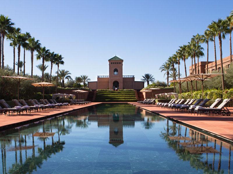 piscine hotel selman marrakech