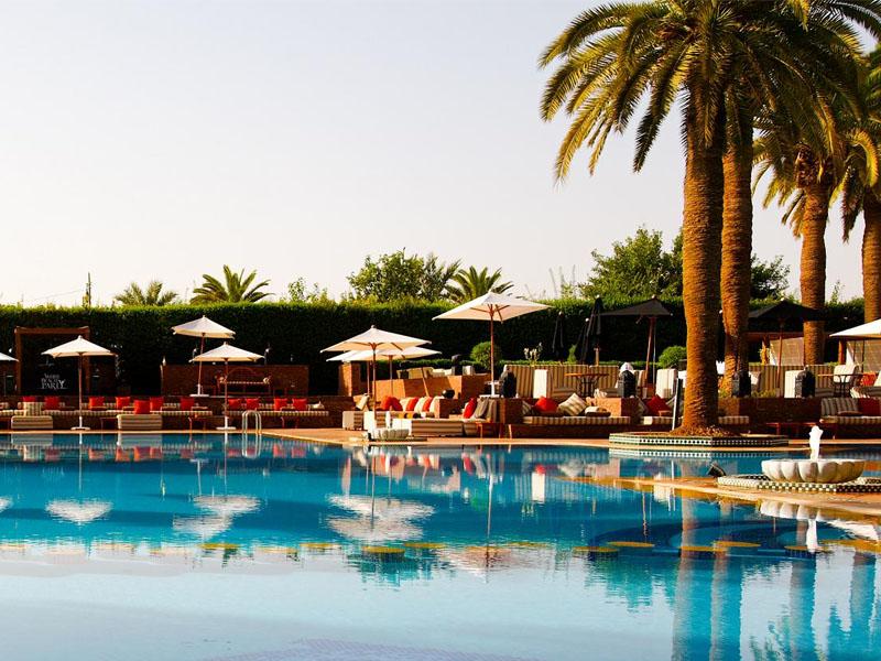 piscine hotel sofitel marrakech