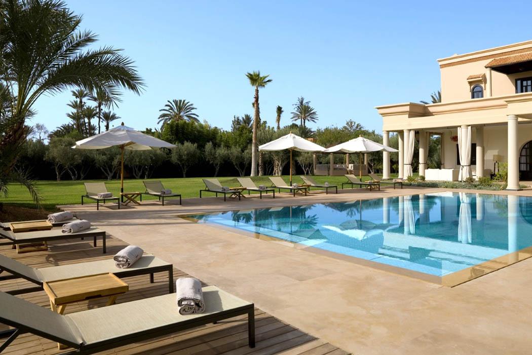 piscine villa marrakech