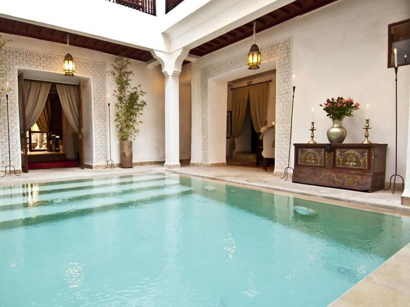 Piscine Riad Aladdin Marrakech