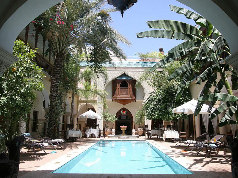 Piscine Riad Demeures Orient marrakech