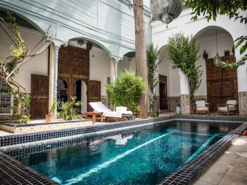 Piscine Riad Edward marrakech