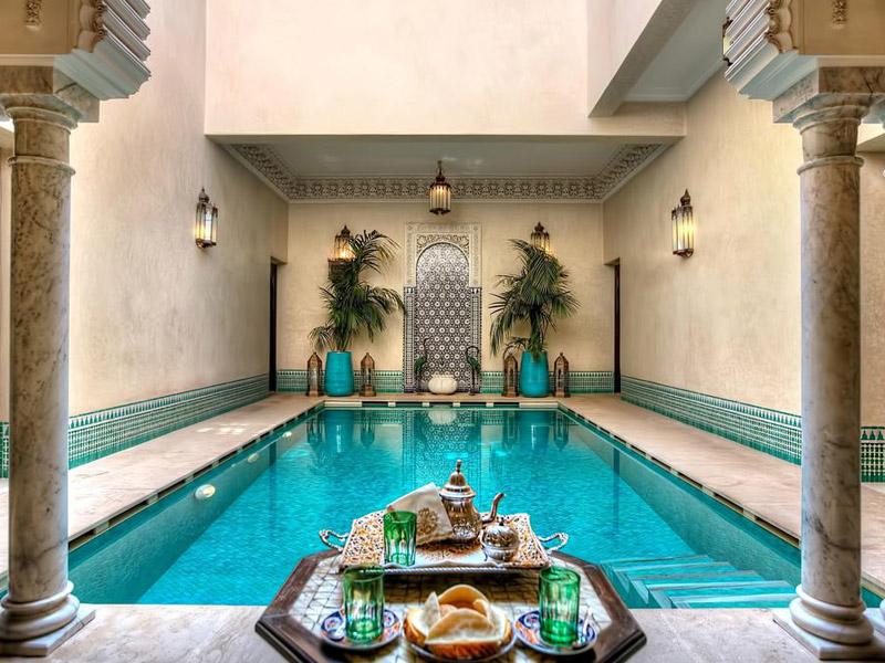 Piscine Riad Kniza Marrakech