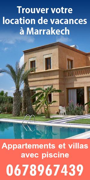 location vacances Marrakech