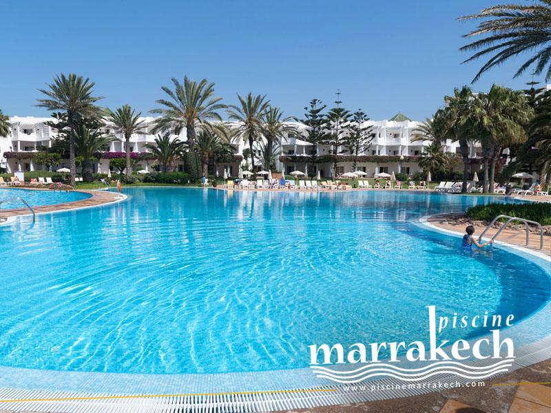 Piscine club iberostar palmeraie a marrakech