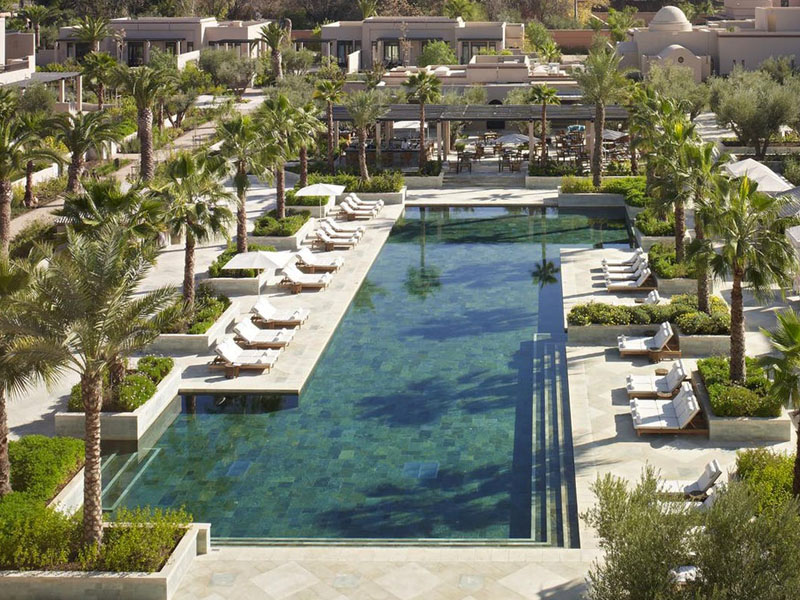 Piscine Four Seasons Resort Marrakech