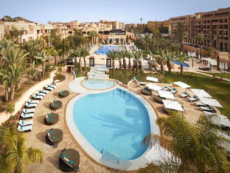 Piscine Hotel Mövenpick Mansour Eddahbi Marrakech
