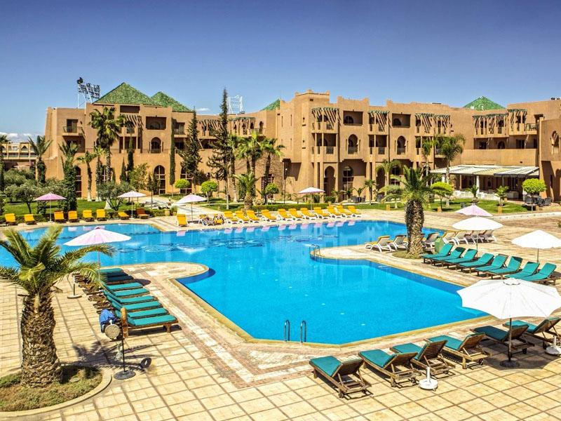 Piscine Hotel Palm Plaza Marrakech