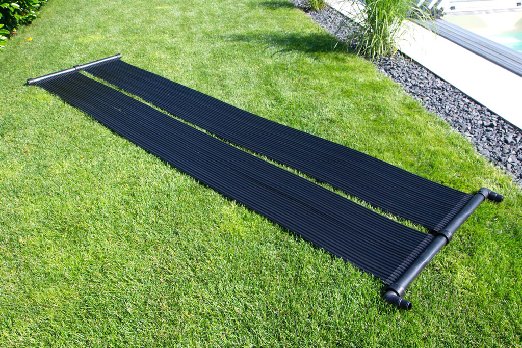 Chauffage tapis solaire piscine