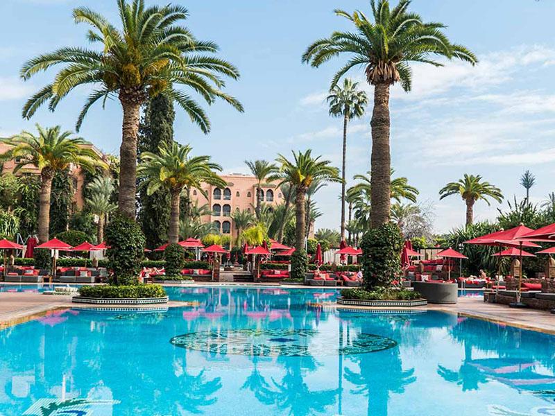Piscine hotel sofitel a marrakech