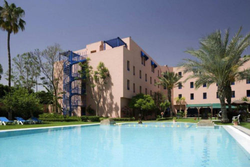 Piscine Hotel ibis Marrakech Gare