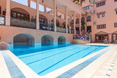 Piscine Hotel oudaya Marrakech