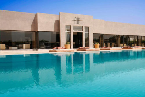 Piscine Marrakech Myah Bay