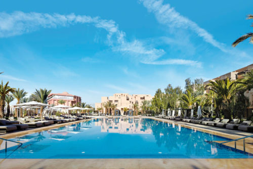Piscine Hotel Movenpick Marrakech
