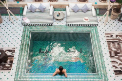 Piscine Riad Yasmine Marrakech