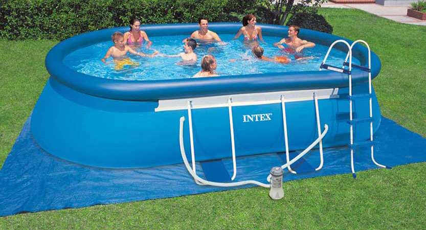 Grand piscine gonflable intex maroc