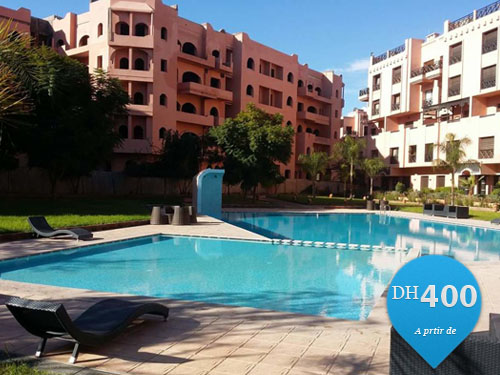 Location vacance appartement piscine marrakech