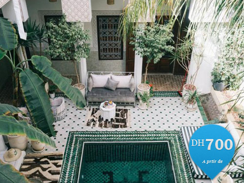 Location vacance riad piscine marrakech